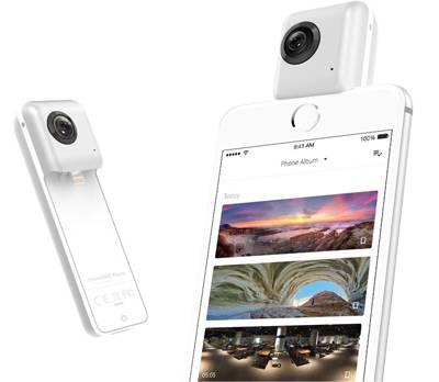 Caméra 360 degrès pour Iphone